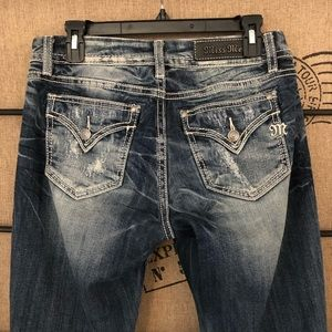 Miss Me mid rise stretch bootcut size 29